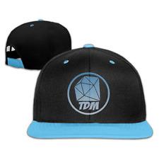 The Diamond Minecart DAN TDM Logo Kids Boys Girls Hats Caps