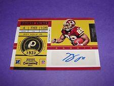 2011 Playoff ROY HELU JR #172 Rookie Autograph Redskins - Raiders NEBRASKA RC