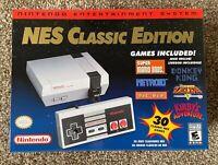 AUTHENTIC Nintendo NES Classic Edition Mini 30 Games Brand New Mario 1 2 3 RARE