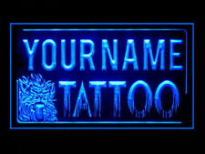 Tattoo Shop Personalized Your Text Display LED Light Sign