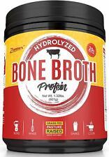 Hydrolyzed Bone Broth Protein Powder, Zammex Nutrition, 1.32 lbs