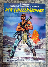 EINZELKÄMPFER / Death Dimension - A1-FILMPOSTER - German 1-Sheet ´84 JIM KELLY