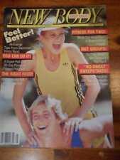 NEW BODY female bodybuilding muscle PREMIERE magazine JOHN SCHNEIDER 5-92
