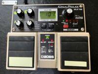 BOSS Digital Delay GIGA DELAY DD-20 Guitar Effects electro