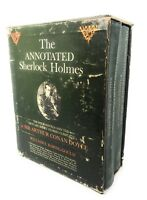 The Annotated Sherlock Holmes 2 Vol Set 1967 In Slip Case Hard Cover
