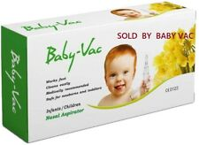 Baby Vac Nasal Aspirator Medically recommended for Newborn Toddler Children Kids