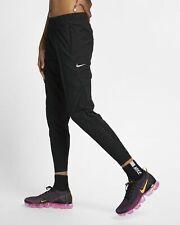WOMENS NIKE SWIFT RUNNING PANTS TROUSERS SIZE M (AQ5704 010) BLACK