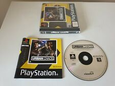 URBAN CHAOS. PS1 Game. Complete. RICOCHET. (PlayStation One, PS2, PS3. PAL)