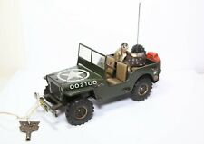 Arnold Toys J2100 US Army Jeep 1951 - Excellent Vintage Tinplate Model Rare