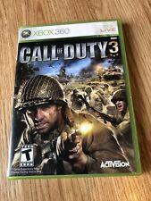 Call of Duty 3 (Microsoft Xbox 360, 2006) + Rare Soundtrack ES