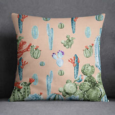 S4Sassy Decorative Cactus Home Decor Throw Cushion Case Square Pillow Cover