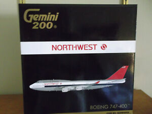 Gemini Jets 1:200 Northwest 747-400 G2NWA909