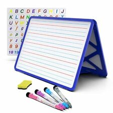 Small Dry Erase White Board With Stand Double Sided Dry Erase Board For Kids