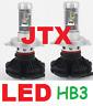 JTX 1 pair HB3 9005 LED Globes Bulbs 12v 24v 6000 Lumen 50w
