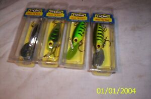 """Storm Hot N"""" Tot Fishing Lure Lot of 4 LURES ALL 1/2 OUNCE"""