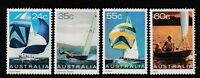 Australia 1981 : Yachting in Australia - Set of 4 Decimal Stamps, MNH