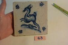 C63 Très ancien carrelage DELFT XIX ème siècle old tiles 3