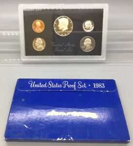1983 S United States Proof Set With Box