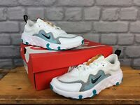 NIKE RENEW LUCENT WHITE BLACK TEAL TRAINERS VARIOUS SIZES CHILDRENS LADIES T