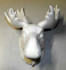 Nice New Ceramic Faux Moose Head Wall Decoration - Christmas Decor