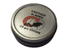 Captain O-Ring Deluxe 20pc VITON Save-A-Dive O-Ring Kit for Scuba Diving