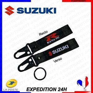 Porte-clé SUZUKI GSX-R - Moto, Voiture, Bateau - Envoi rapide Noir