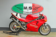 "Ducati 888 SP5 Nummertafeln ""1""  Verkleidung neu numberplates fairing number"