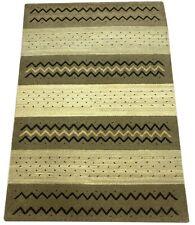 Gabbeh Teppich 100% Wolle Beige Braun Handgeknüpft 170X240 cm WR41