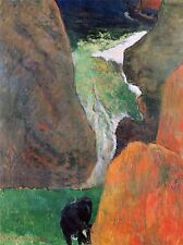 PAUL GAUGUIN HOVER ABOVE ABYSS OLD MASTER ART PAINTING PRINT POSTER 2172OMA