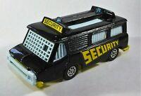 Corgi Die Cast Vehicle High Speed Security Van . Pat  No 1278081 Model B13