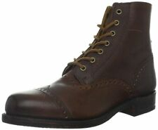 New in Box  FRYE Men's Arkansas Brogue Boot Dark Brown Style 87033 Size 11 D (M)