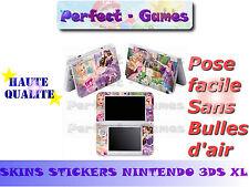 Skin sticker auto-collant vinyl Barbie n°1 pour console nintendo 3DS XL LL