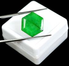 Esmeralda Natural 8.10 Cts Certificado IGL Colombia Emerald Gemstone Hexagon Cut