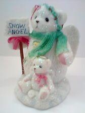 Cherished Teddies MACIE Wonders of Friendship  Snowbear  Snow Angel 2003