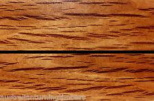 Figured Australian River Oak Wood Knife Scales (Bookmatched)