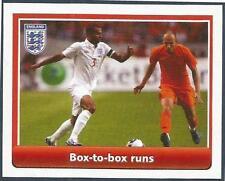 TOPPS ENGLAND 2010 WORLD CUP- #056-BOX TO BOX RUNS-CHELSEA-ASHLEY COLE