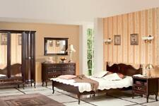 Italienische Stil Schlafzimmer Komplett Möbel Bett Nachttisch Schrank Kommode 1