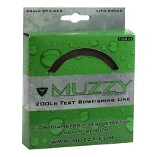 Muzzy Bowfishing 200# Lime Green Braided Line (100ft) 1078 #10780
