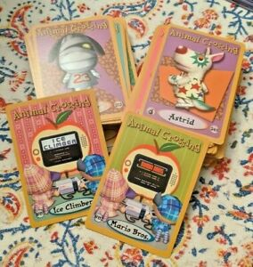 Animal Crossing E-Reader Cards, Nintendo Series 1-4 authentic Game Cube e reader