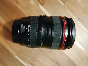 MINT Canon EF 24-105mm f/4 L IS Lens