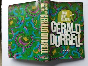 Gerald Durrell Rosy is my Relative 1st edition 1968 Collins rare book HBDJ