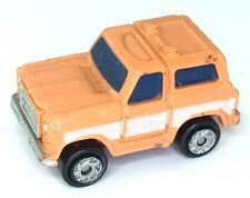 Micro Machines Chevy Blazer  Chevrolet Truck Sport Utility Orange Car Vehicle