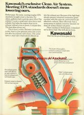 Kawasaki Motorcycle 1980 Magazine 8 Page Advert #1915