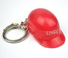 Original USA 1960er Cincinnati Reds Baseball Helm Schlüsselanhänger Keychain rot