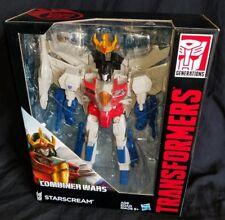 STARSCREAM Transformers Generations Combiner Wars Leader Class Figure