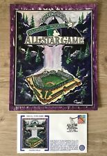 COORS FIELD - 1999 All Star Game Cachet with Original Artwork!