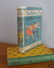 The BOBBSEY TWINS IN THE COUNTRY by Laura Lee Hope, in DJ, circa 1940