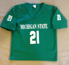 MICHIGAN STATE SPARTANS  # 21 NCAA FOOTBALL JERSEY BY FRANKLIN YOUTH MEDIUM