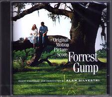 Forrest Gump Alan Silvestri est ORIGINALE SCORE COLONNA SONORA CD NUOVO Robert Zemeckis