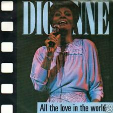 SOUL 45 SINGLE DIONNE WARWICK ALL THE LOVE IN THE WORLD